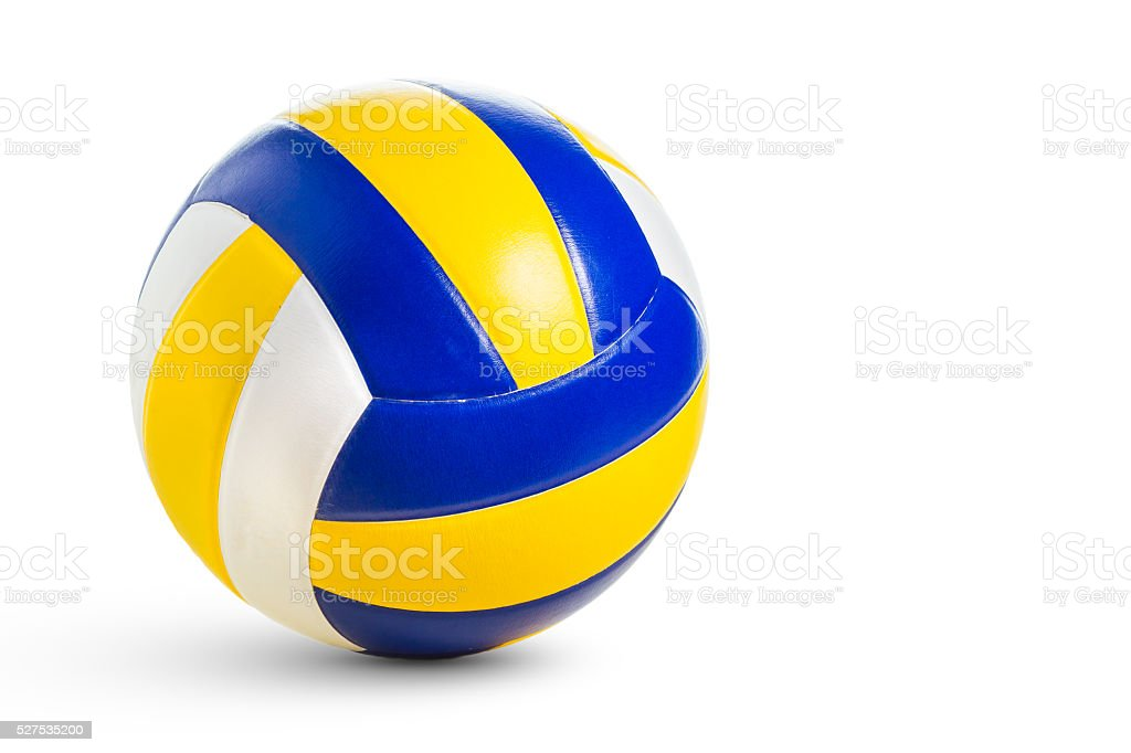 Isolated Volleyball stock photo