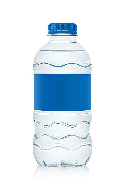 isolated water bottle for 330 ml.