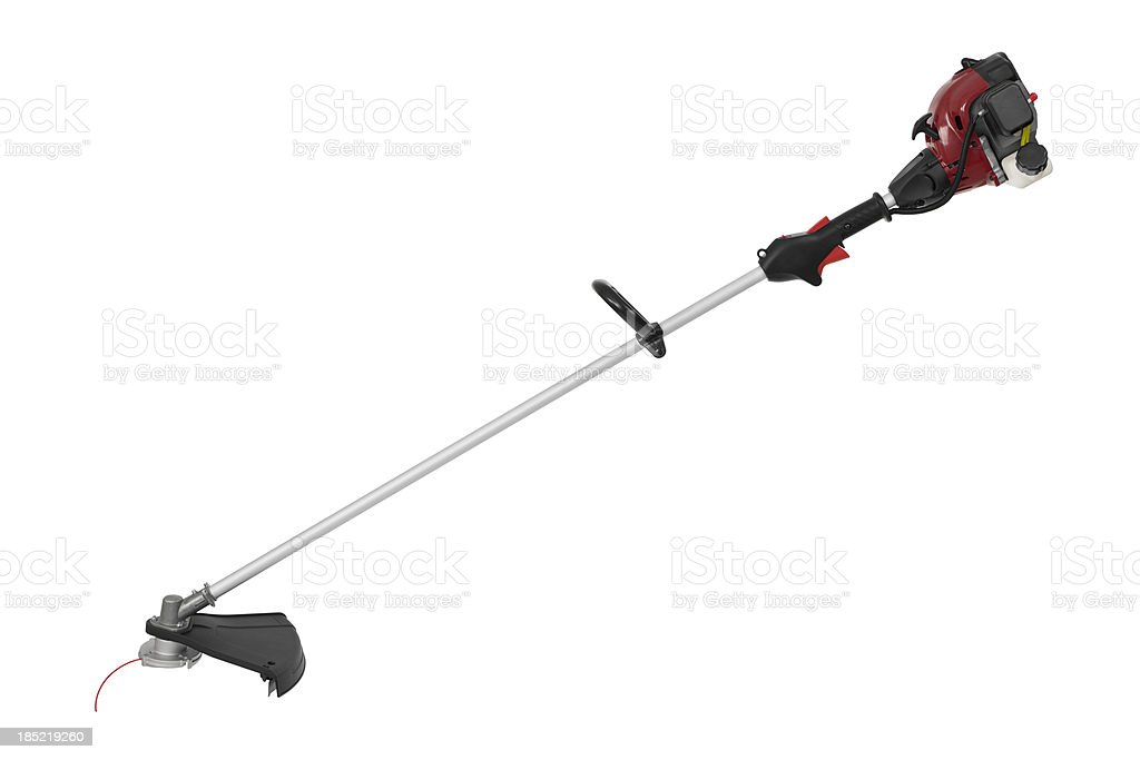 Isolated Weed Trimmer stock photo