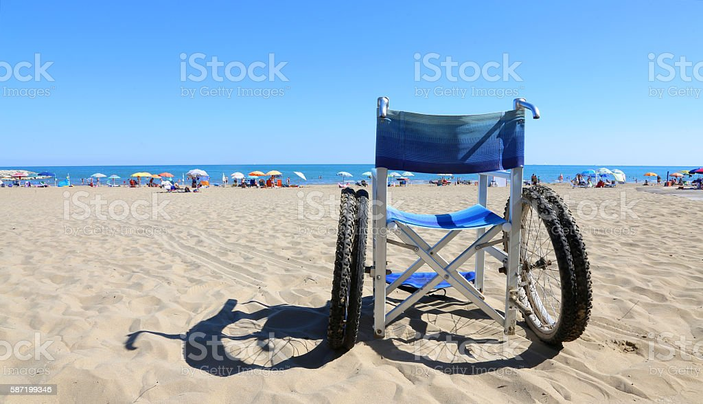 isolated wheelchairs for people with mobility problems stock photo