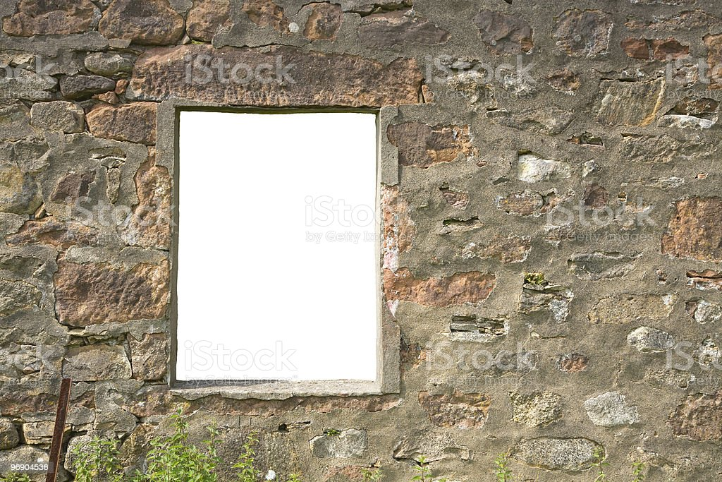 isolated window royalty-free stock photo