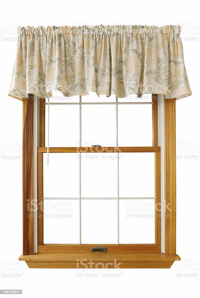 Isolated Window (Clipping Path) royalty-free stock photo