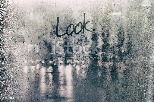 istock Isolated word. 470790294