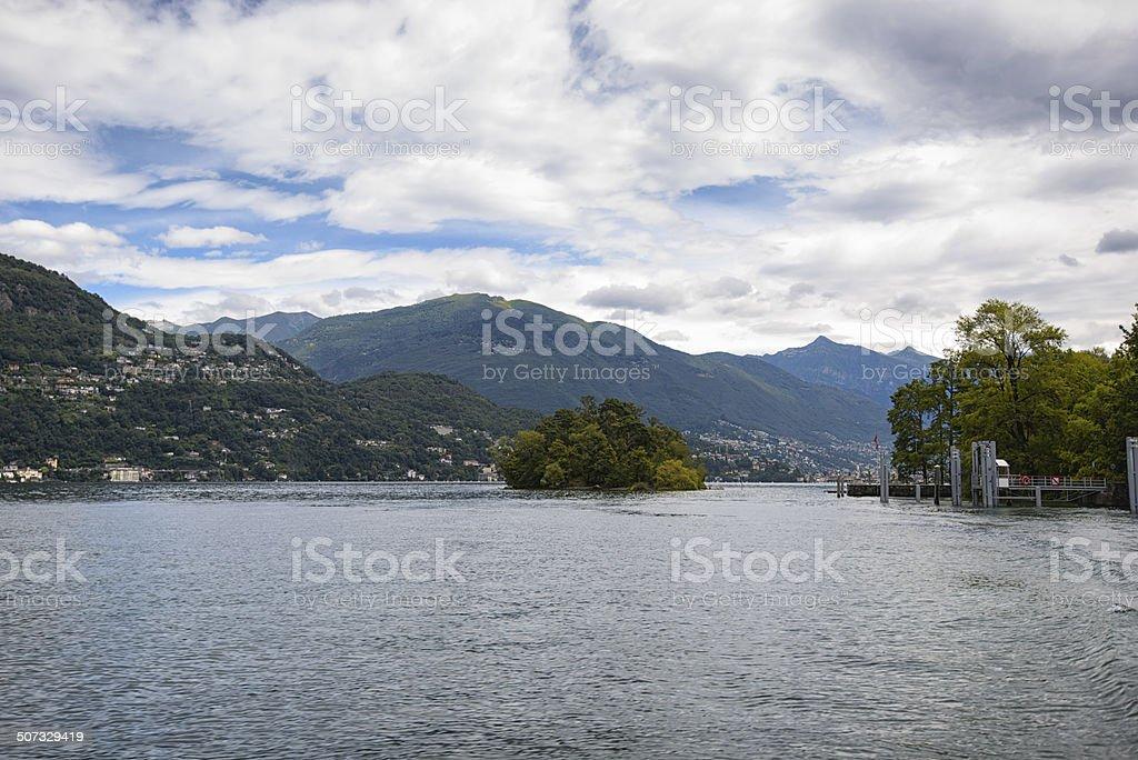 Isole di Brissago, Lago Maggiore, Tessin, Switzerland royalty-free stock photo