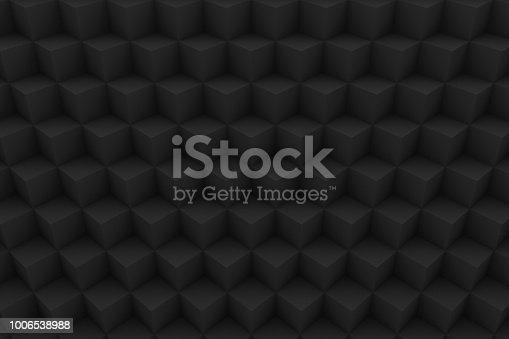 871774704istockphoto 3D Isometric Cubes Pattern, Background 1006538988