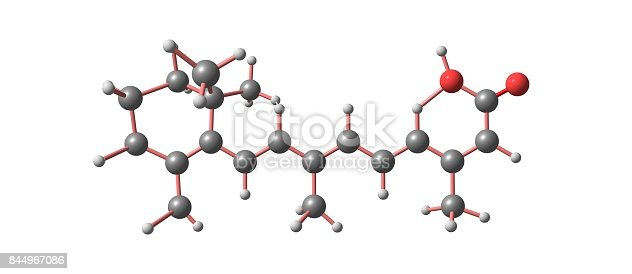 Isotretinoin or 13-cis-retinoic acid is an medication primarily used to treat severe acne. It is also used to prevent certain skin cancers . 3d illustration