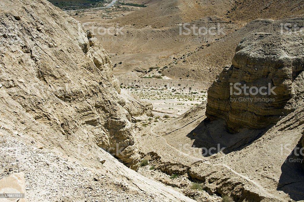 Israel desert royalty-free stock photo