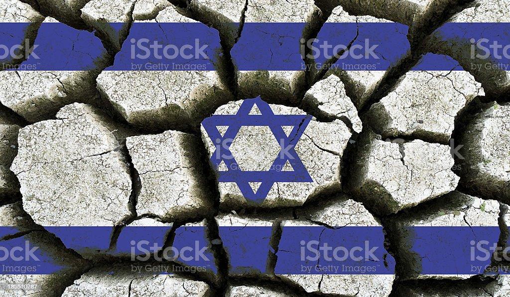 Israel flag. royalty-free stock photo