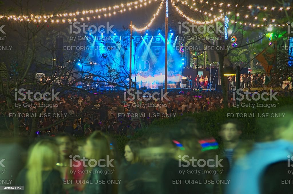 Israel Independence Day Celebrations, 2013 stock photo