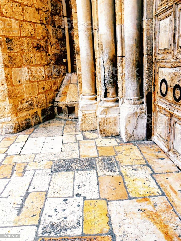 Israel, Jerusalem, Church of the Holy Sepulchre, stock photo