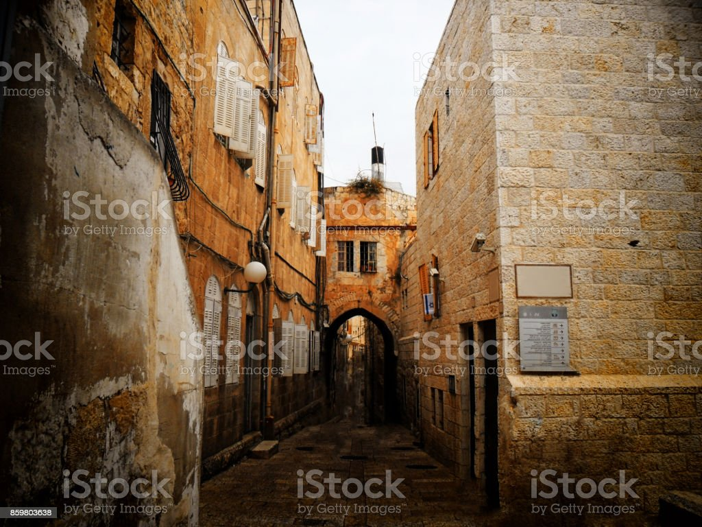 Israel, Jerusalem, Middle East, Built Structure stock photo