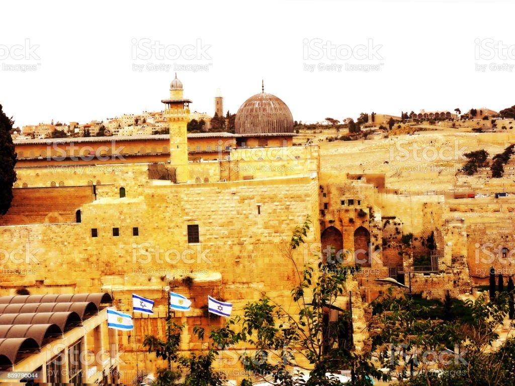 Israel, Jerusalem, Middle East, old city stock photo