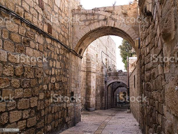 Photo of Israel - Jerusalem Old City Alley