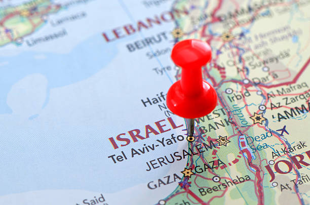 Royalty Free Israel Map Pictures Images And Stock Photos IStock - Israel map