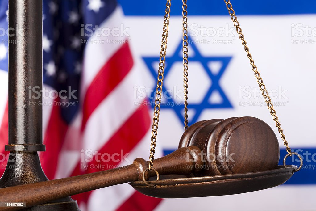 US Israel relationship royalty-free stock photo