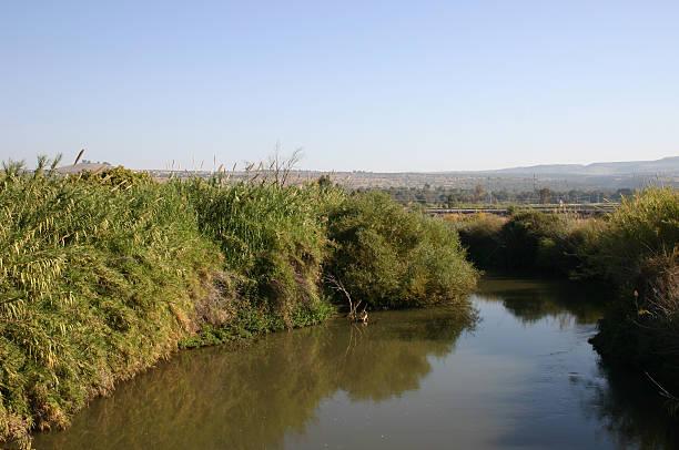 Israel River Jordan stock photo