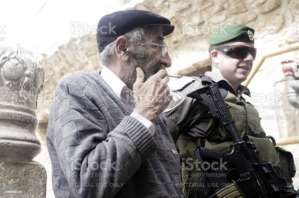 Israele Patrol stock photo