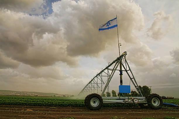 Israeli agriculture stock photo