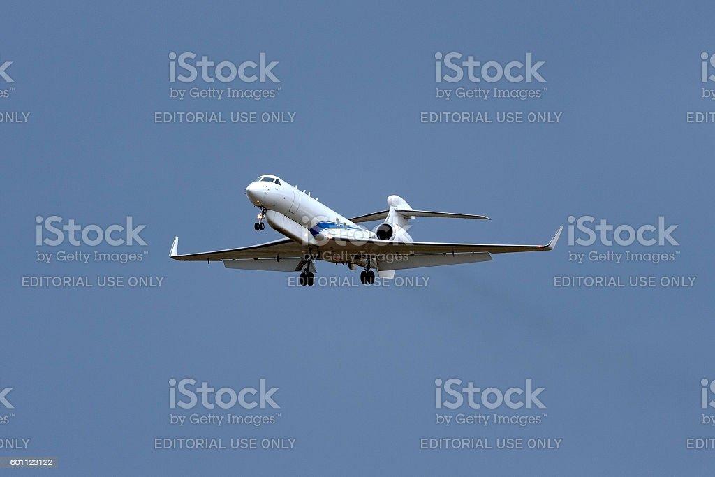 Israeli Air Force Electronics Warfare aircraft stock photo