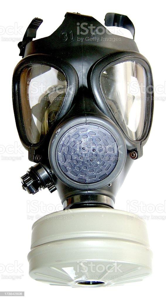 Israeli Army Gas Mask royalty-free stock photo