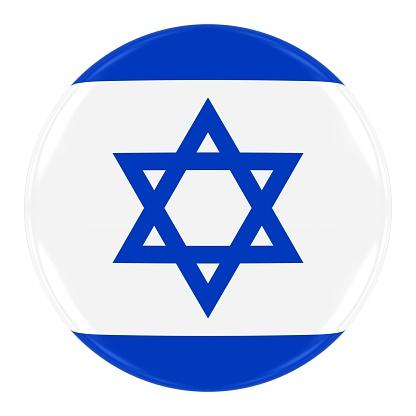 istock Israeli Flag Badge 495618046