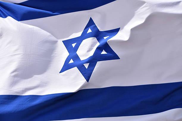 bandeira israelense de vento - israel - fotografias e filmes do acervo