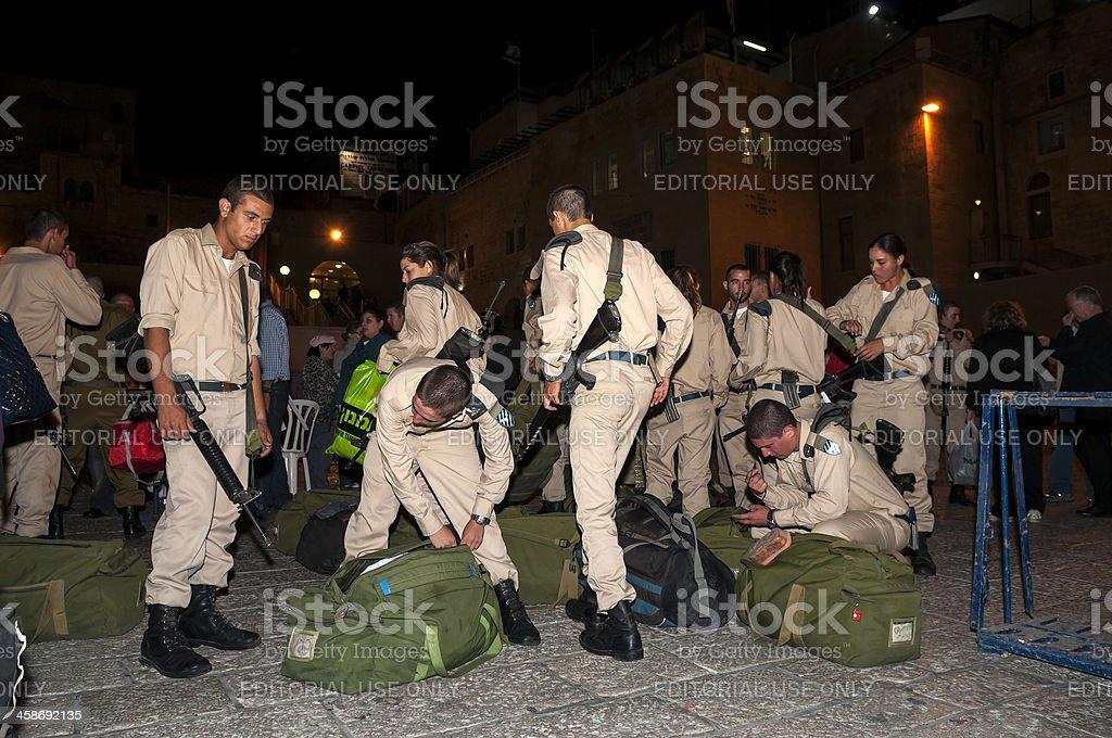 Israeli military stock photo