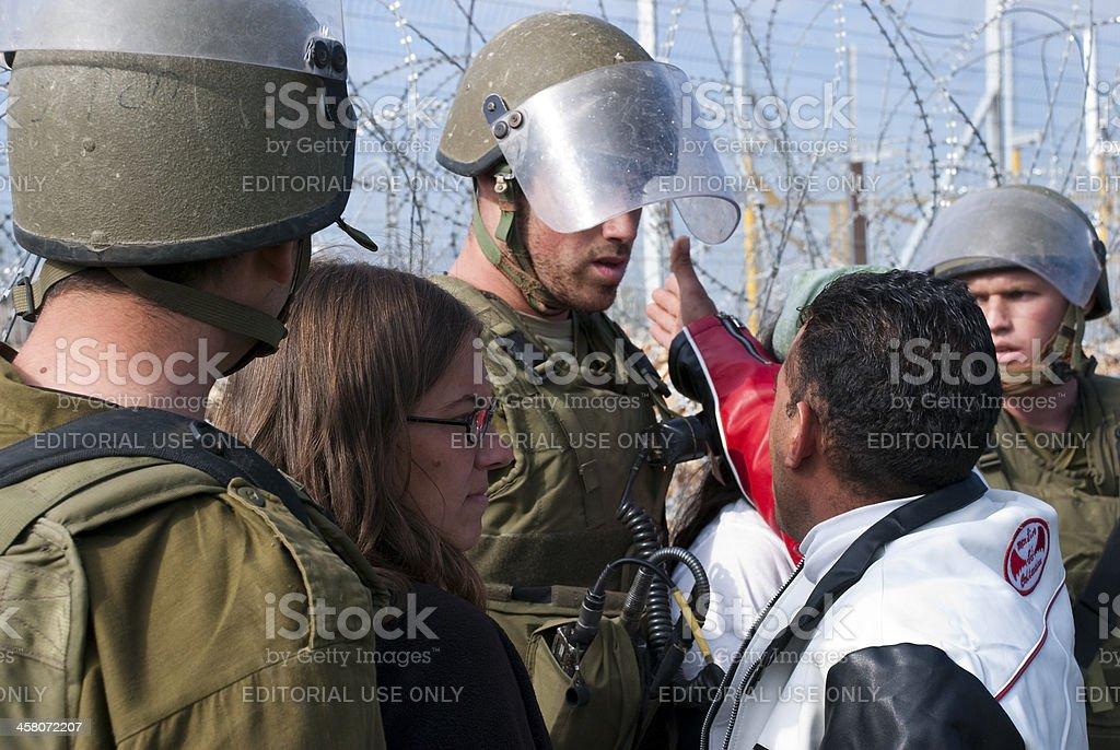 Israelisch-palästinensischen Konflikt – Foto