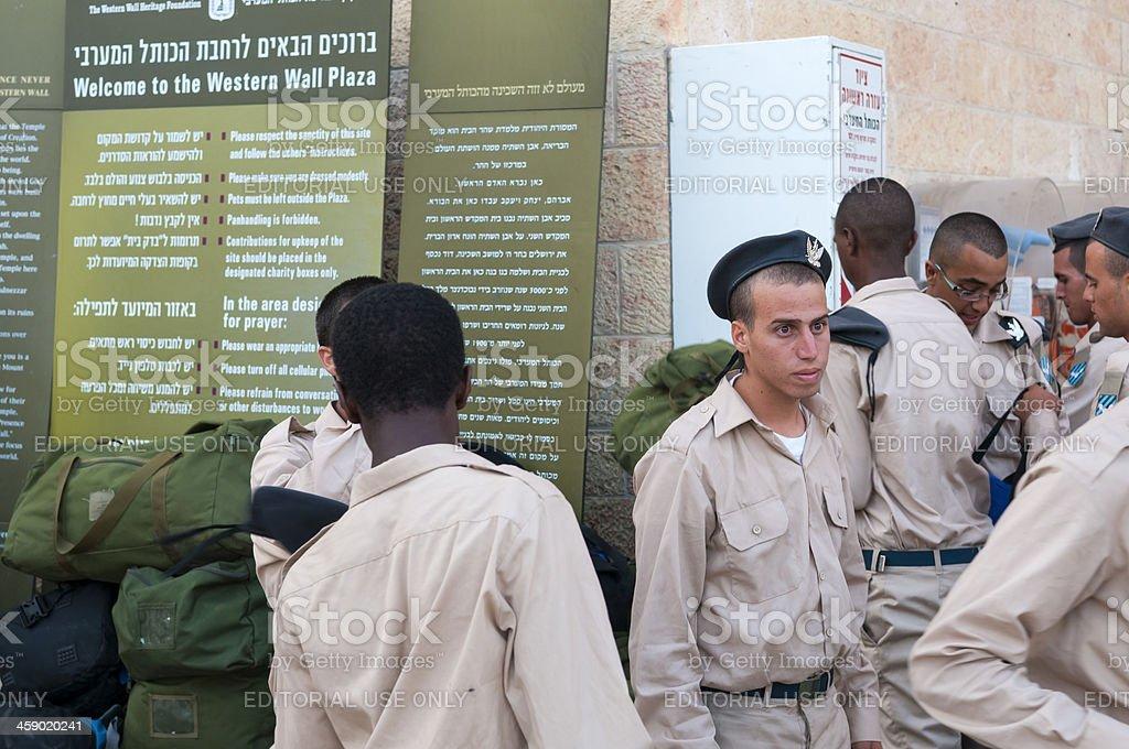 Israel's ethnic diversity royalty-free stock photo