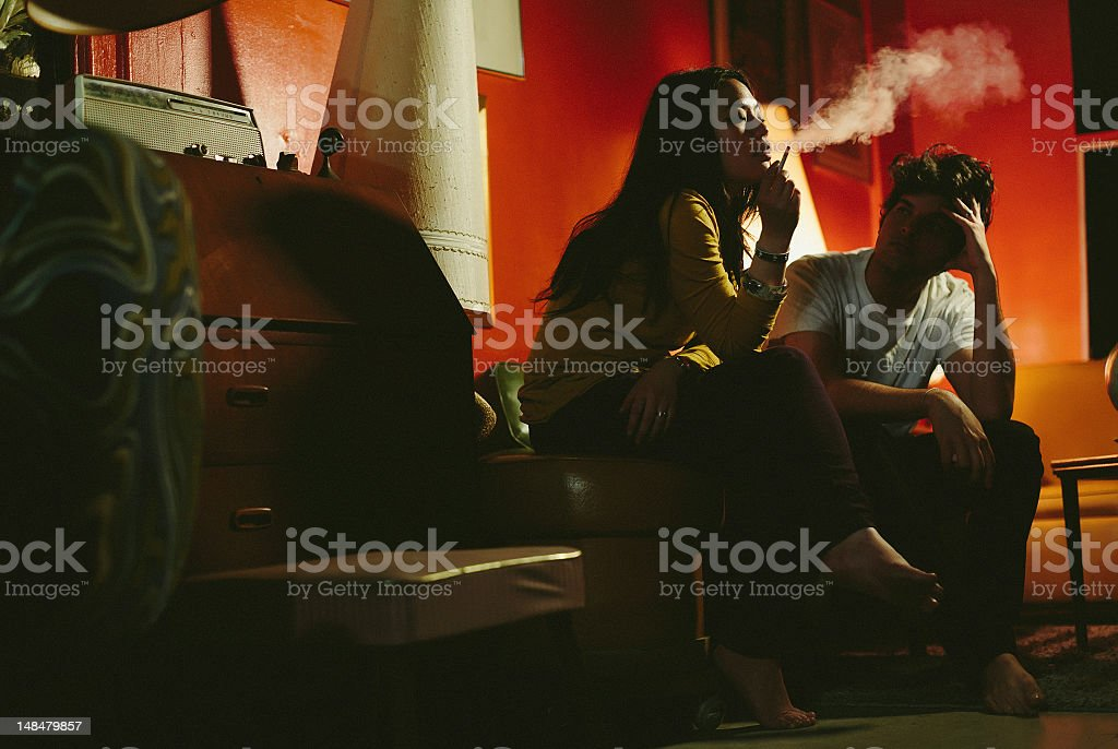 issues and depression stock photo