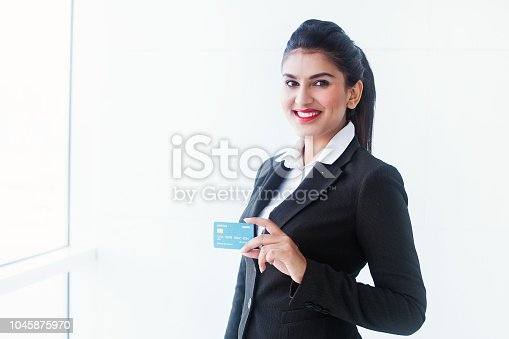 istock Issuing credit card 1045875970