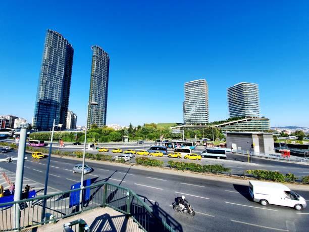 istanbul 4 levent - wiedenmeier istanbul stock-fotos und bilder
