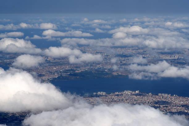 istanbul luftbild - wiedenmeier istanbul stock-fotos und bilder