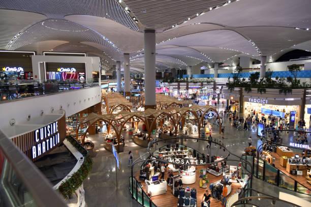istanbul airport ist - wiedenmeier istanbul stock-fotos und bilder