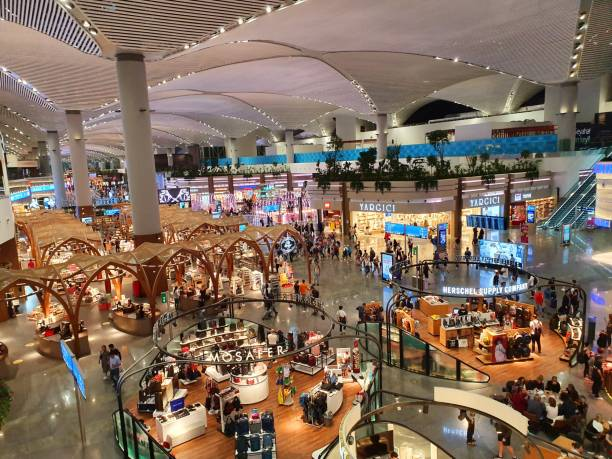 flughafen istanbul - wiedenmeier istanbul stock-fotos und bilder