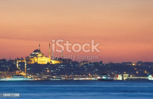 182421396 istock photo Istanbul at night 184911268
