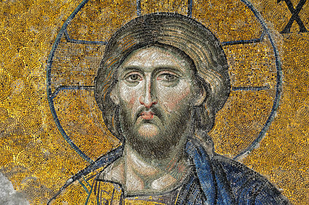 Stambuł Hagia Sophia deesis mosaic – zdjęcie