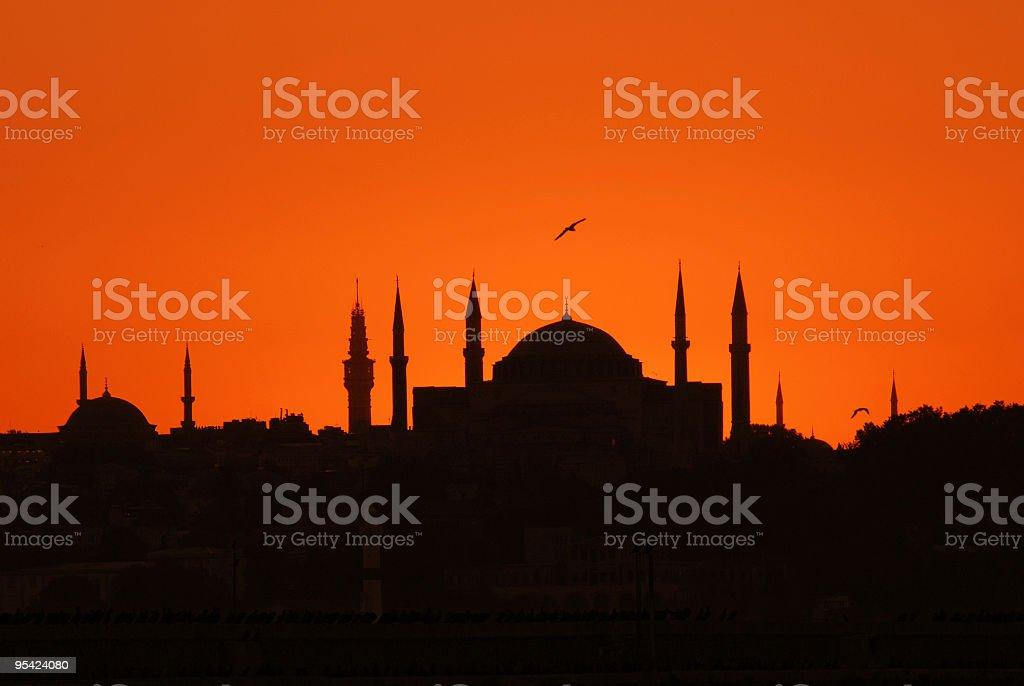 istanbul Aya Sofya royalty-free stock photo