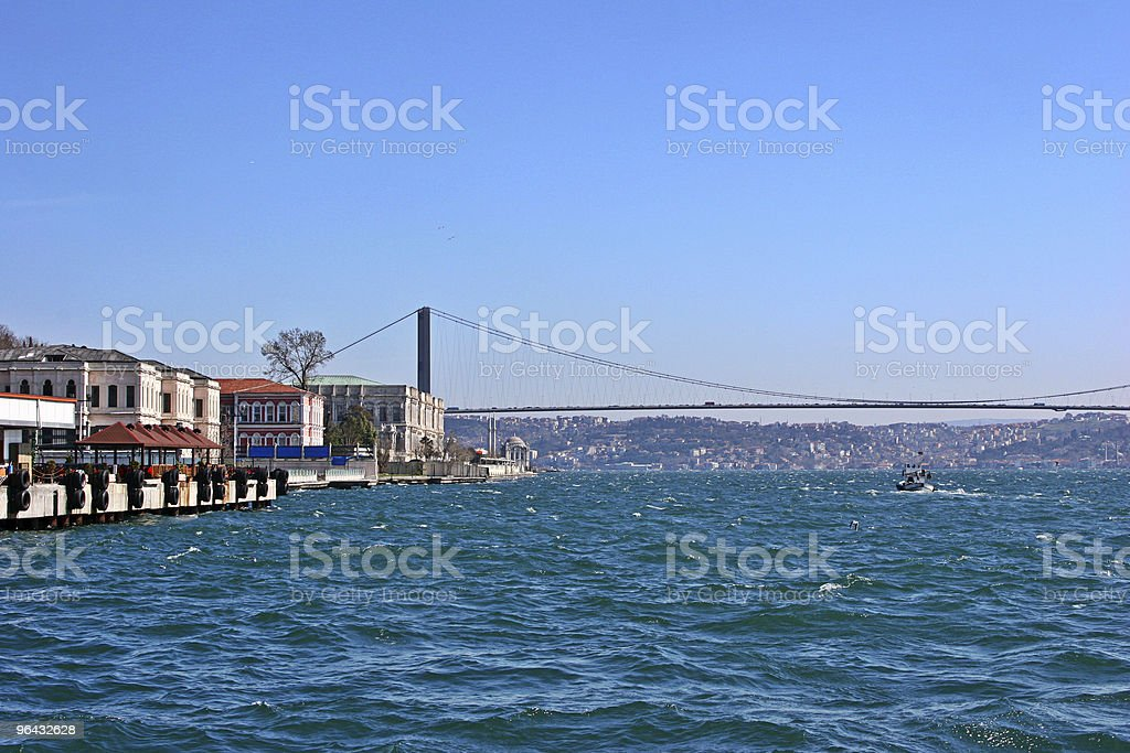 Istanbul Bosphorus Bridge royalty-free stock photo
