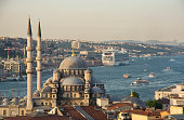istanbul bosphorus , mosque and landscape