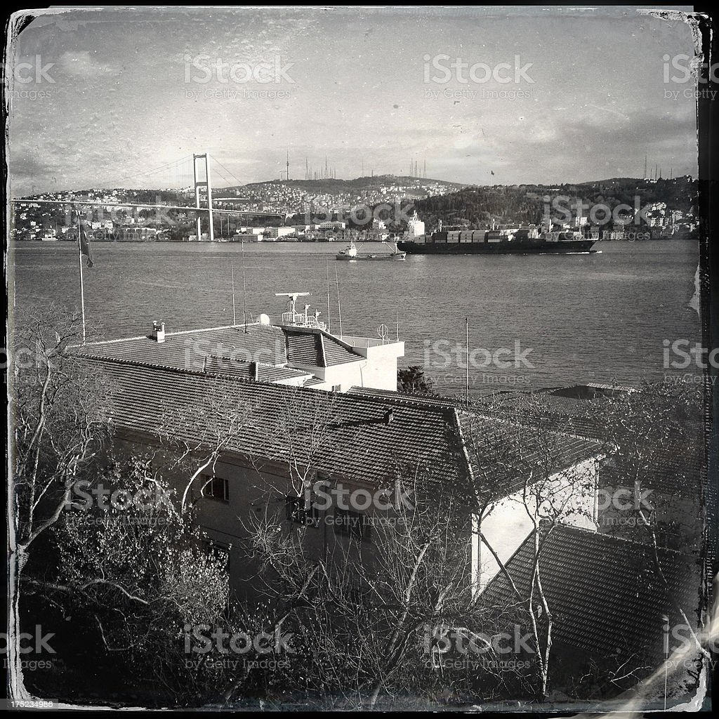 istanbul  bosphorus royalty-free stock photo