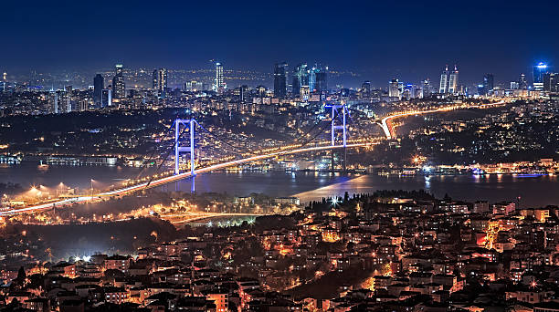 Istanbul Bosphorus Istanbul: Connecting the Continents bosphorus stock pictures, royalty-free photos & images