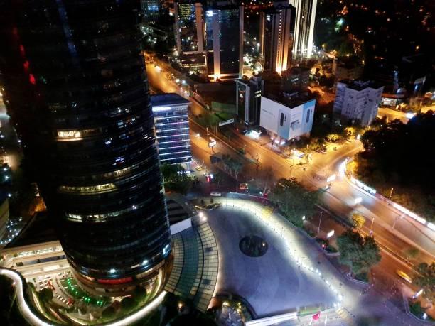 istanbul bei nacht - wiedenmeier istanbul stock-fotos und bilder