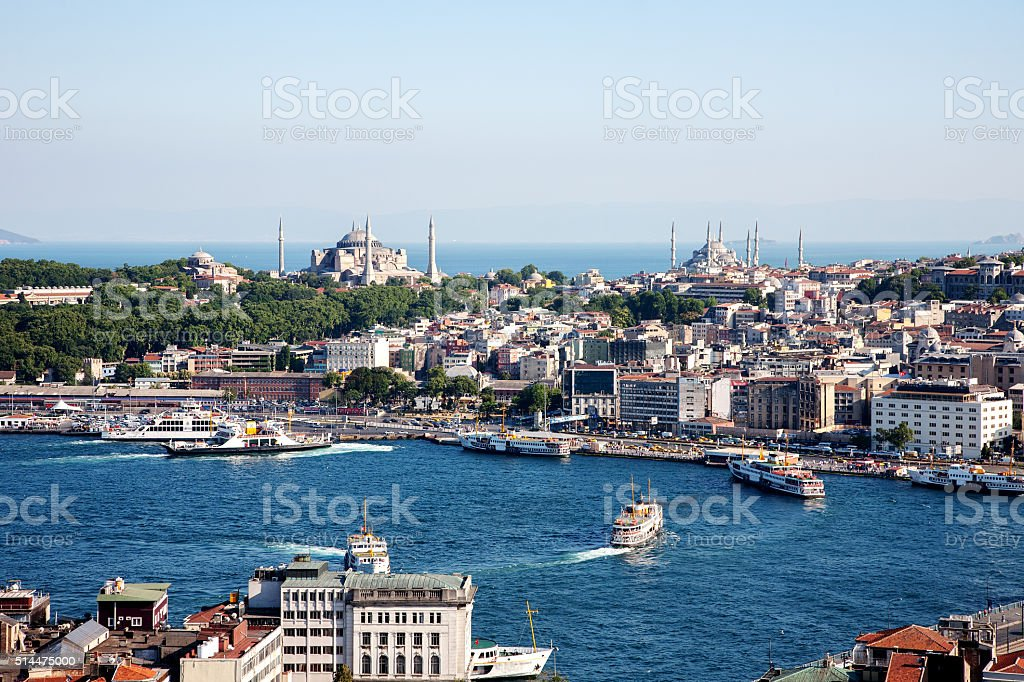 Istanbul City stock photo