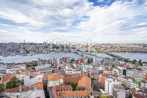Istanbul cityscape and buildings, Turkey.