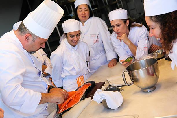 istanbul culinary institute - küchenorganisation stock-fotos und bilder