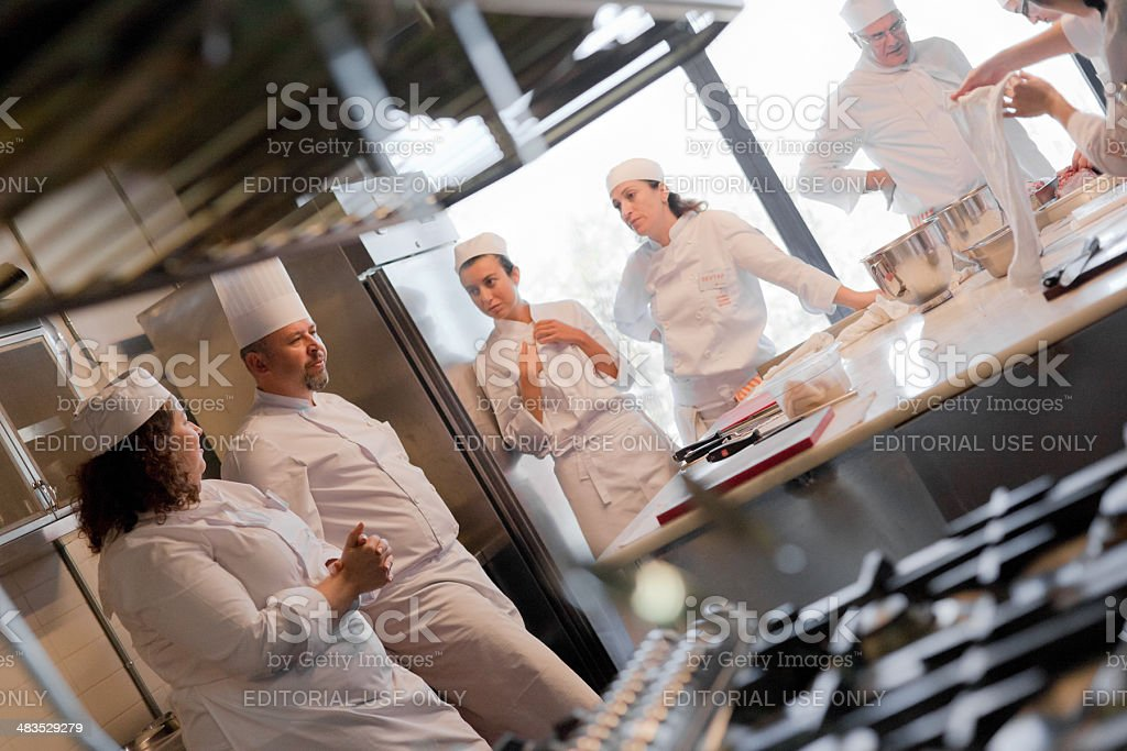 Istanbul Culinary Institute stock photo