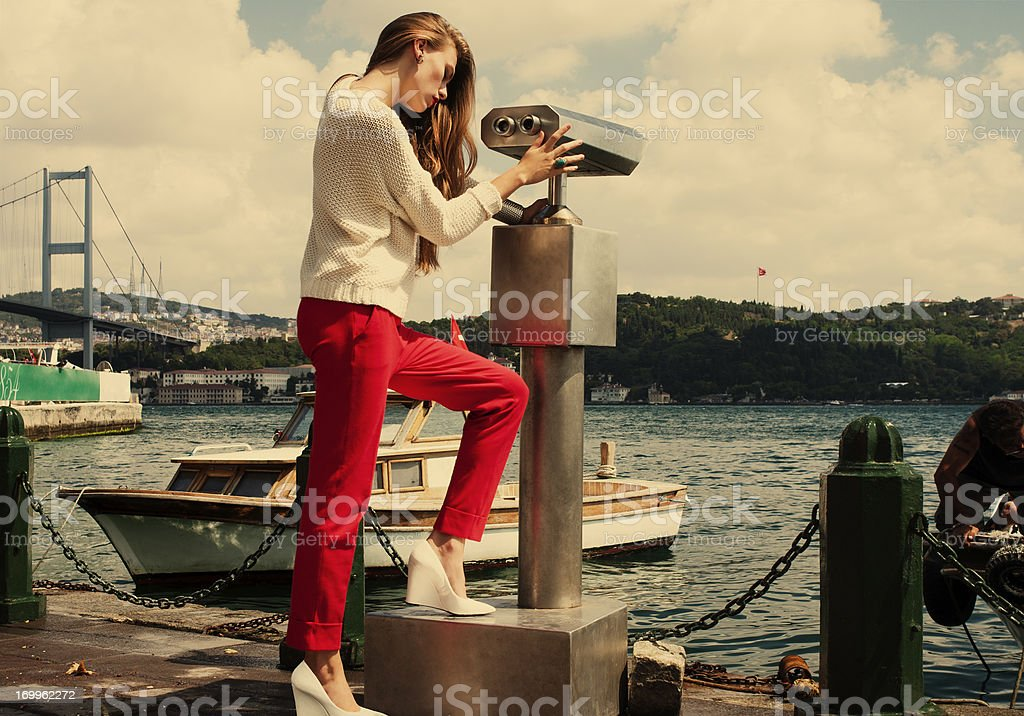Istanbul fashion stock photo