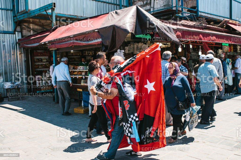 Photo libre de droit de Istanbul 16 Juin 2017 Turc Rue Foire ...