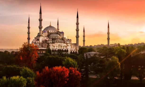 istanbul landscape - turchia foto e immagini stock